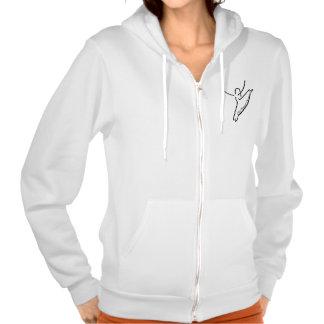The Dance Center Zip Hoodie, American Apparel Hooded Sweatshirts