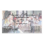 The Dance Class by Edgar Degas Pack Of Standard Business Cards