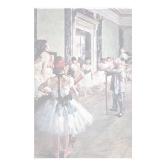 The Dance Class By Edgar Degas Stationery