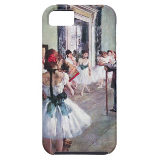 The Dance Class by Edgar Degas, Vintage Ballet Art Tough iPhone 5 Case