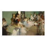 The Dance Class. Edgar Degas Pack Of Standard Business Cards