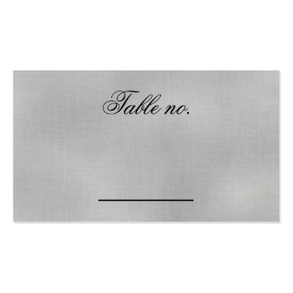 The Dance Gothic Wedding  Reception Table Number Business Cards