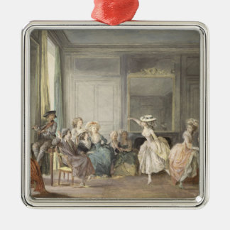 The Dance Lesson Christmas Ornament