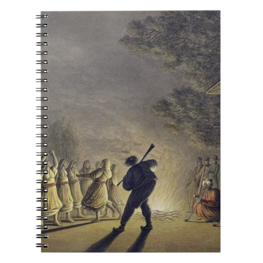 The Dance of the Bulgarian Peasants, pub. by Willi Spiral Notebook