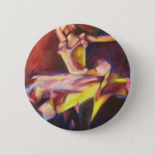 The Dancer 6 Cm Round Badge