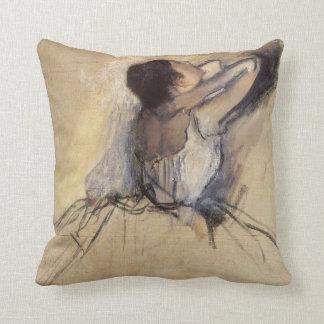 The Dancer by Edgar Degas Vintage Ballet Art Throw Pillows