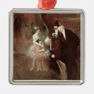 The Dancers, c.1925 (oil on canvas) Christmas Ornament