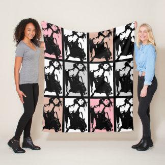 The Dancing Beauty Fleece Blanket