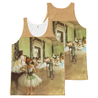 The Dancing Class by Edgar Degas All-Over Print Tank Top