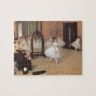 The Dancing Class by Edgar Degas, Vintage Ballet Jigsaw Puzzle