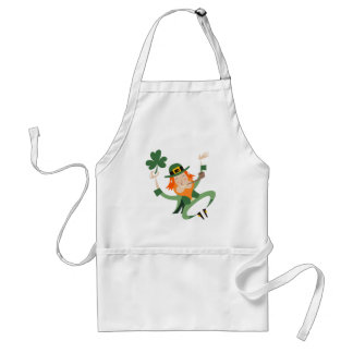 The Dancing Leprechaun Standard Apron