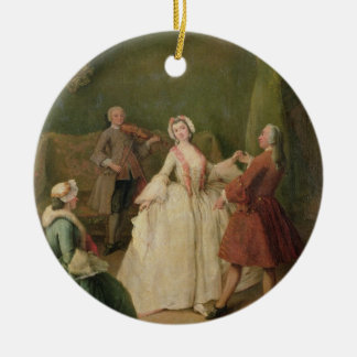 The Dancing Lesson Christmas Ornament