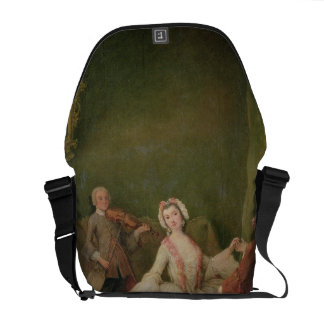 The Dancing Lesson Messenger Bags