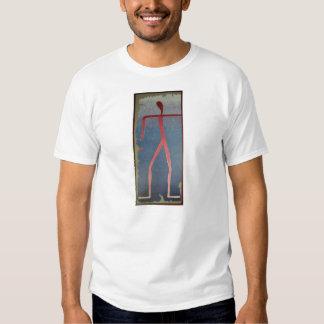 The Dancing Male by Peter Virgancz Tee Shirt