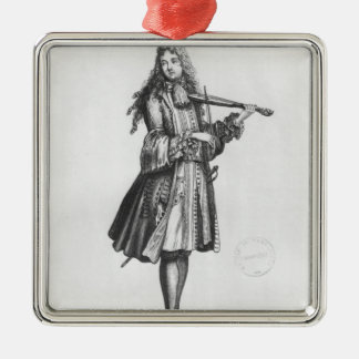 The dancing master christmas ornament