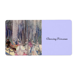 The Dancing Princesses Shipping Label