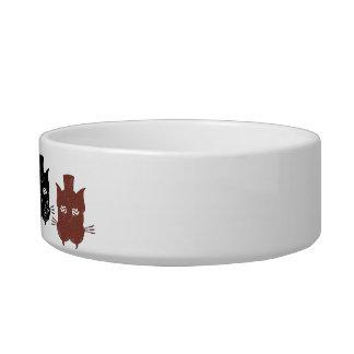 The Dapper Cat Kitty Bowl Pet Food Bowls