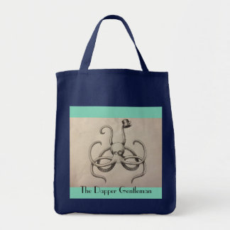 The Dapper Gentleman Grocery Tote Grocery Tote Bag