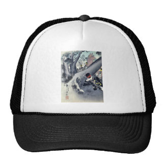 The daring Lt General Tachimi by Mizuno, Toshikata Mesh Hat