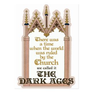The Dark Ages Postcard