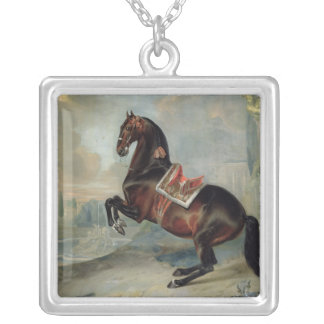 The dark bay horse 'Valido' Personalized Necklace