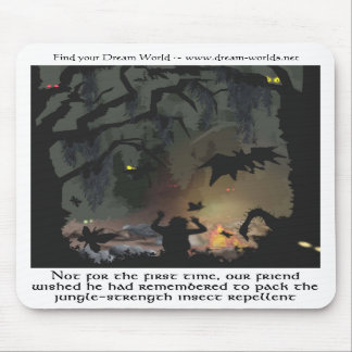 The Dark Forest Mousepad