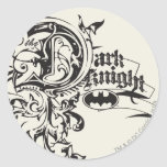 The Dark Knight Ornate Stickers