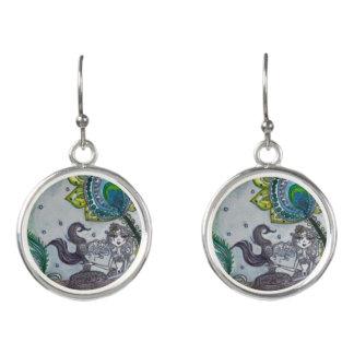 The Dark Mermaid Earrings