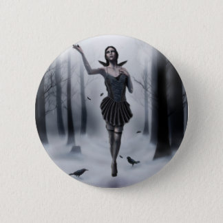 The Dark Muse 6 Cm Round Badge
