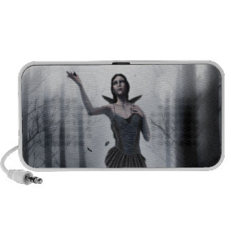 The Dark Muse iPhone Speaker
