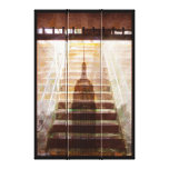 the dark sub to the hight lights - browns canvas print