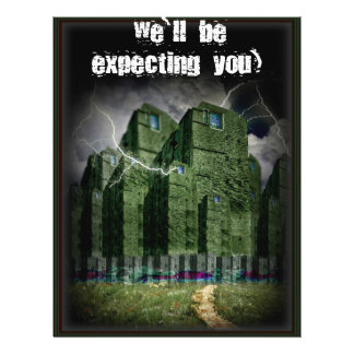 The Darkside of The Haunted City 21.5 Cm X 28 Cm Flyer