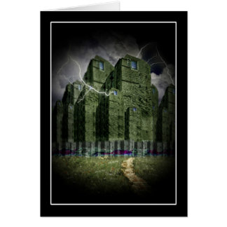 The Darkside of The Haunted City Greeting Card