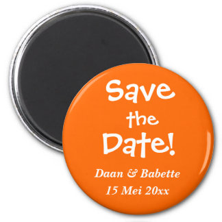 The date reserves magnet