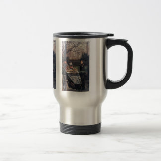 The daughter of the warrior by James Tissot Coffee Mugs