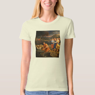 The Daughters of Jethro by Theophile Hamel 1838 Tees