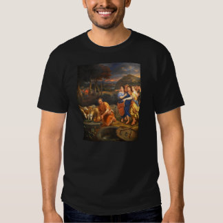 The Daughters of Jethro by Theophile Hamel 1838 Tshirt
