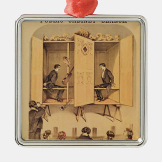 The Davenport brothers, poster for Seance, 1865 Christmas Ornament