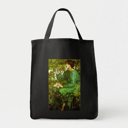 The Day Dream by Dante Gabriel Rossetti Bag