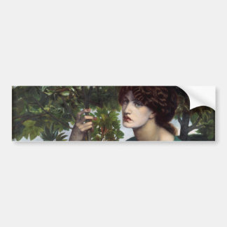 The Day Dream by Dante Gabriel Rossetti Bumper Sticker