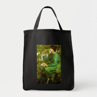 The Day Dream by Dante Gabriel Rossetti Grocery Tote Bag
