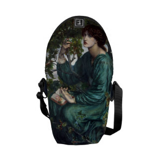 The Day Dream by Dante Gabriel Rossetti Messenger Bag
