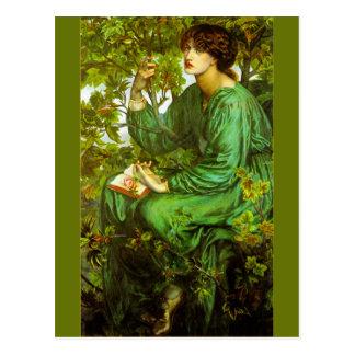 The Day Dream by Dante Gabriel Rossetti Postcard