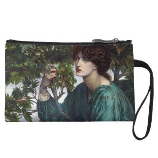 The Day Dream by Dante Gabriel Rossetti Wristlet Purses