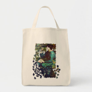 The Day Dream puzzle Canvas Bags