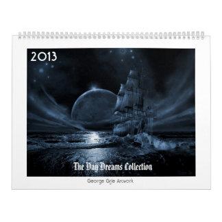 The Day Dreams Collection 2013 Wall Calendar