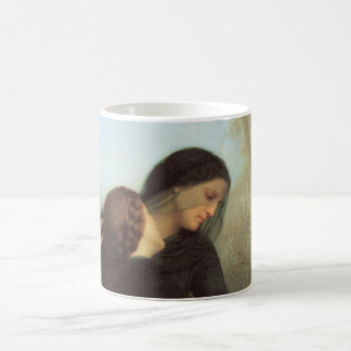 The Day of the Dead by William Adolphe Bouguereau Basic White Mug