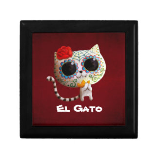 The Day of The Dead Cute Cat Gift Box