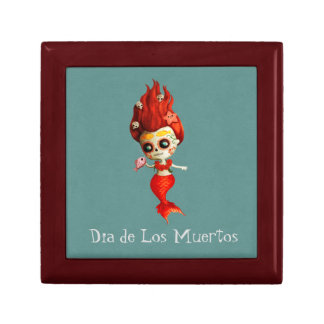 The Day of The Dead Mermaid Gift Box