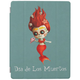 The Day of The Dead Mermaid iPad Cover